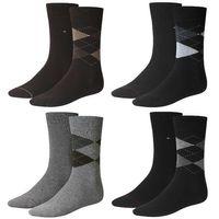 2 Paar TOMMY HILFIGER Herren CHECK Socken Gr. 39 - 46 Business Sneaker Socken