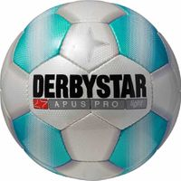 Derbystar Fußball Aprus Pro Light Ball Size 5 Trainings Ball weiß blau