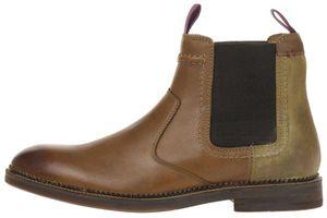 Clarks Bushwick Hi Herren Men Boots Stiefel Leder braun