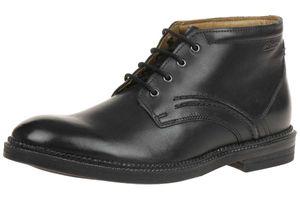 Clarks Bushwick Mid Herren Men Boots Stiefel Leder schwarz