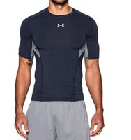 Under Armour Heat Gear Control Switch Gr. M COMPRESSION T-Shirt blau