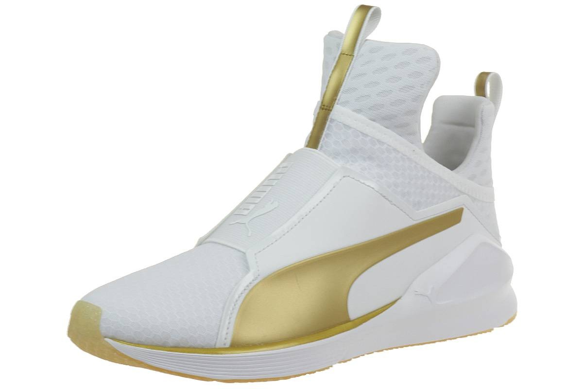 Puma Damen Fierce Gold Hohe Schuhe Sneaker 189192 01 Women White