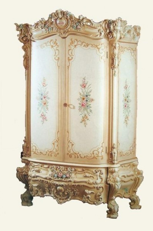Barock Kleiderschrank Antik Stil Vp7730/2 | LouisXV - Online-Shop ...