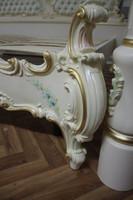 Barock antik Stil Himmelbett Bett Vp7762H – Bild 8