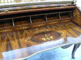 secrétaire Antique Style Baroque Bureau Plat Louis XV MoSk0530 /Br.190 – Bild 17