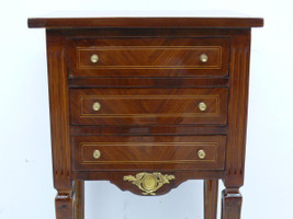 commode baroque Cabinet Louis XV style antique MoKm0611 – Bild 5