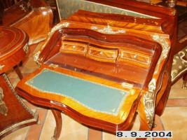 secrétaire Antique Style Baroque Bureau Plat Louis XV MoSc0600 – Bild 6