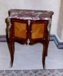 Barock Kommode klein Buffet Antik Stil Rokoko- Stil MoBa0676Rd 001