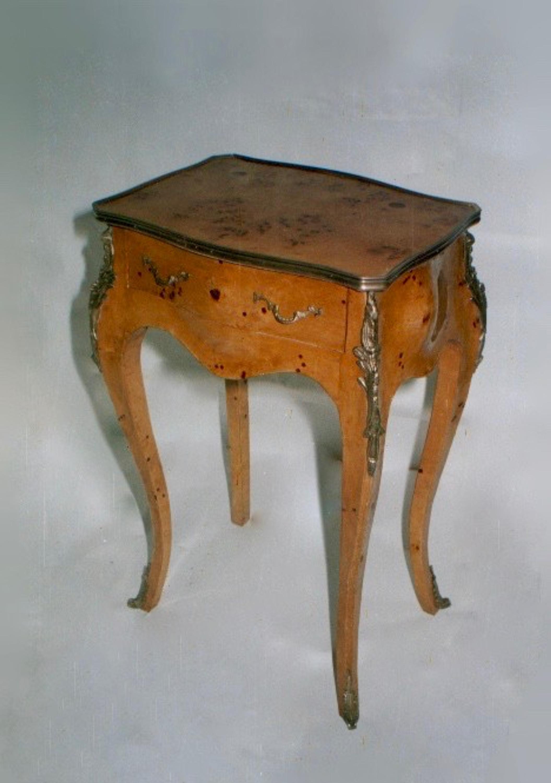 Beistelltisch Barock, Barocker Beistelltisch, Beistelltisch Antik, Antiker  Beistelltisch, MoAl0179 BW