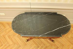 baroque table oval antique style rococo louis pre victorian MoTa0782 – Bild 3