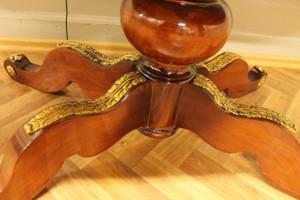 baroque table oval antique style rococo louis pre victorian MoTa0782 – Bild 5