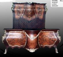 Barock Bett Rokoko Antik Stil MoBdNoLu07622