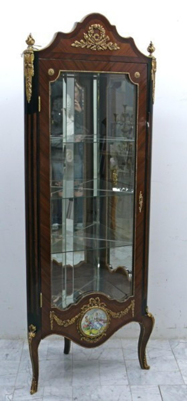 Barock Eck Vitrine Schrank Antik Stil Mocr1106 Ebay