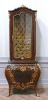 Barock Vitrine Rokoko Antik Stil Schrank    Louis XV MoVi0466