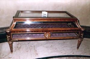 Étalages - le style baroque rococo Table d'époque Louis XV MoTa1160