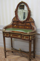 secrétaire Antique Style Baroque Bureau Plat Louis XV MoSc0520 – Bild 1