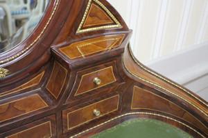 secrétaire Antique Style Baroque Bureau Plat Louis XV MoSc0520 – Bild 7