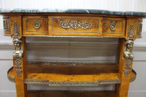 console baroque historicisme style rococo antique MoAl0365 – Bild 7