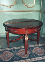 baroque table antique style  round rococo louis pre victorian MoTa0110 – Bild 2