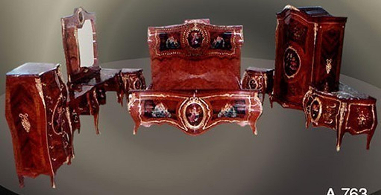 Barokke slaapkamer louis pre victoriaanse mobda louisxv