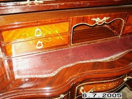bureau baroque Secrétaire Louis XV Baroque MoSc0454SkGn – Bild 5