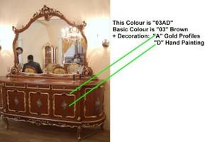 Baroque Sofa 2er 2sitzer de Salon Vp0842 de style antique – Bild 17