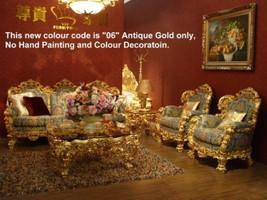 Baroque Sofa 2er 2sitzer de Salon Vp0842 de style antique – Bild 21