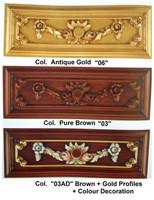 Baroque Sofa 2er 2Sitzer de Salon Vp0892 de style antique – Bild 2