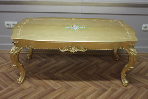 table couch  side table 122x66 antique style Vp0875-06D  – Bild 3
