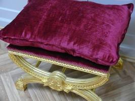 Baroque banquet Tabouret AlCh0327GoRdLW de style antique – Bild 5