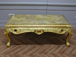 baroque couch  marble beige table antique style rococo AlTa0253ABg – Bild 2