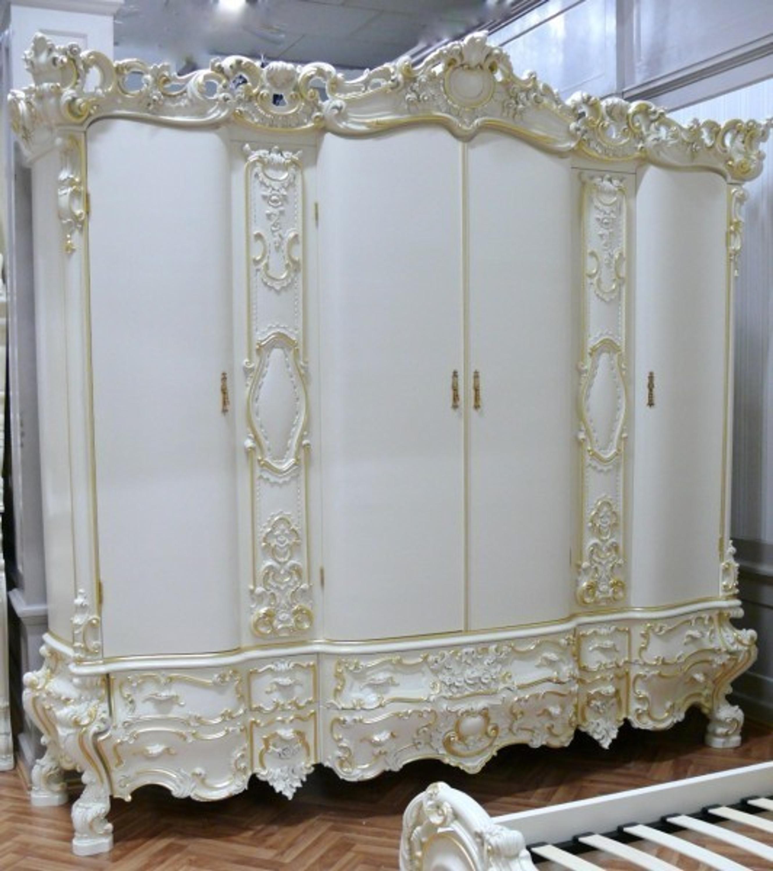 Barock Kleiderschrank Antik Stil – Vp7730/4B | LouisXV - Online-Shop ...