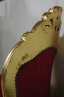 AlSo0316GoRt chaise baroque longue chaise style antique – Bild 7