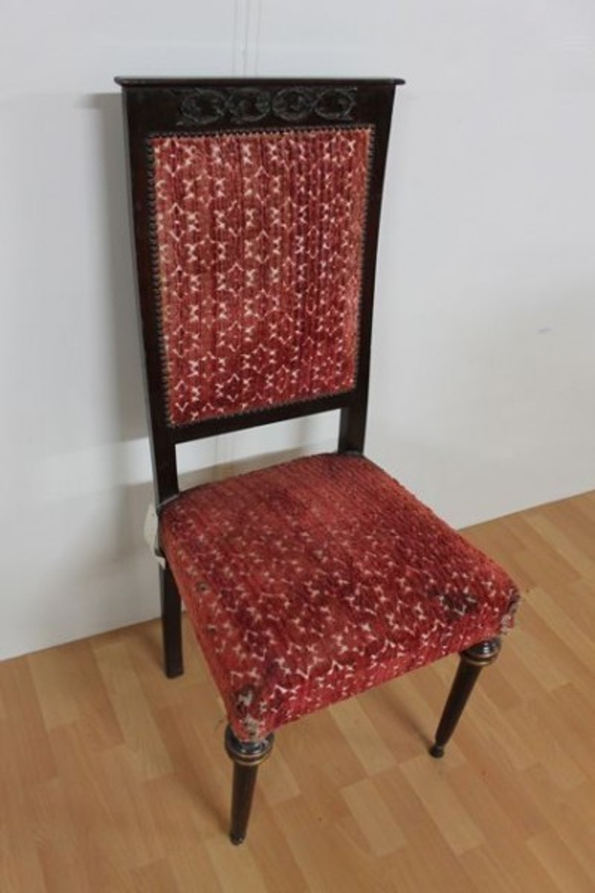 Style chaise ancien occasion baroque louis xv aess0008 ebay - Chaise louis xv occasion ...