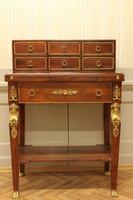Cabinet de secrétaire baroque Louis XV MoSk0796 de style antique – Bild 8