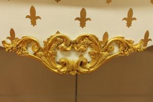 table console baroque coup d'or style antique AlKs0002WeGoLi colonial – Bild 8