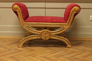banquet baroque tabouret chaise de style antique - le style AlSo0008GoRd – Bild 2