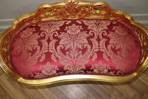 banquet baroque tabouret chaise de style antique - le style AlSo0003GoRd – Bild 4