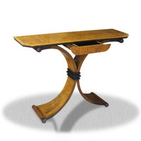 Baroque table console coup style antique or AlKs0008 coloniale – Bild 1