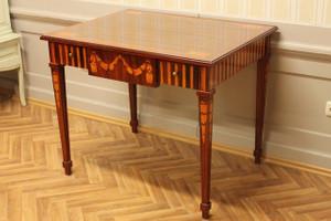baroque table louis pre victorian antique style AlTaSo0007HzInt – Bild 1