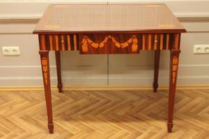baroque table louis pre victorian antique style AlTaSo0007HzInt – Bild 3