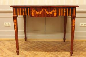 baroque table louis pre victorian antique style AlTaSo0007HzInt – Bild 6