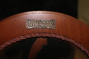Chippendale Vitrinen Hängeschrank gebraucht Antik Stil KeVi0605 – Bild 8