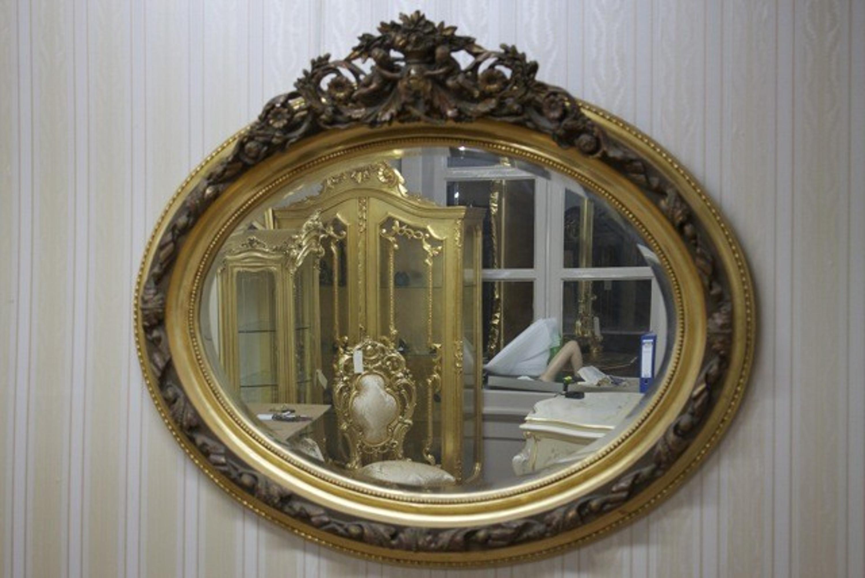 Gouden Barok Spiegel : Barokspiegel antieke stijl leaved gouden almi go louisxv
