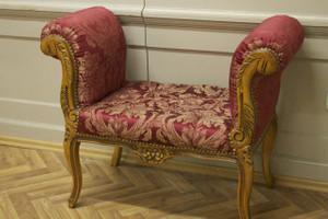 Banket Sofa Tabouret baroque AlSo0319HzRdFl – Bild 1