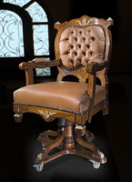 baroque armchair carved  antique style MoCh1440