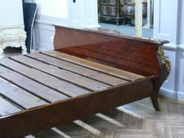 Barock Bett  Antik Stil MoBd07622 – Bild 3