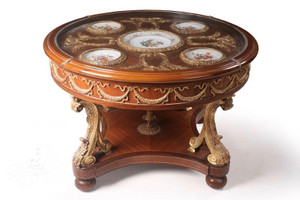 baroque couch  table  antique style MoTa1307