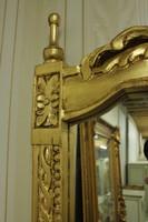 Barock Konsole Antik Stil mit Spiegel u. marble plate AwKs0181GoGn – Bild 4