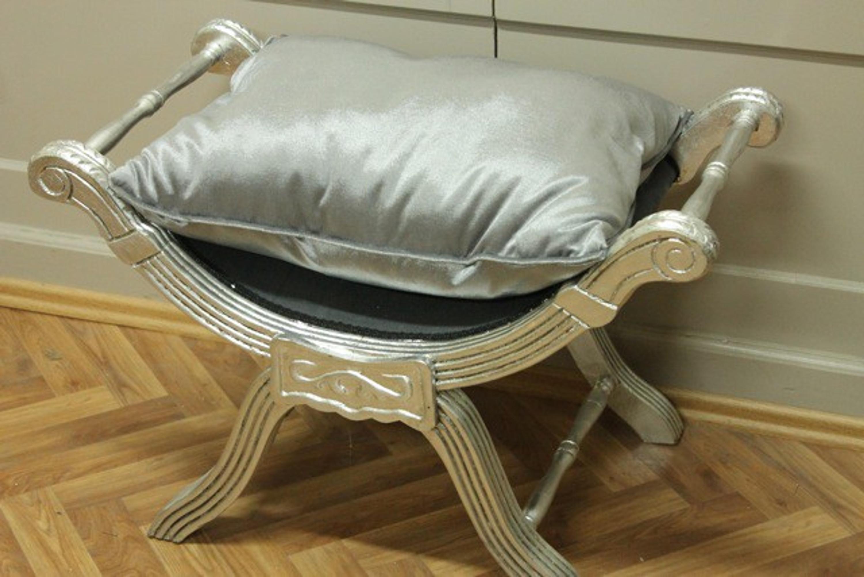 Sgabelli Stile Barocco : Barocco sedia forbici banchetti in stile antico sgabello louis xv